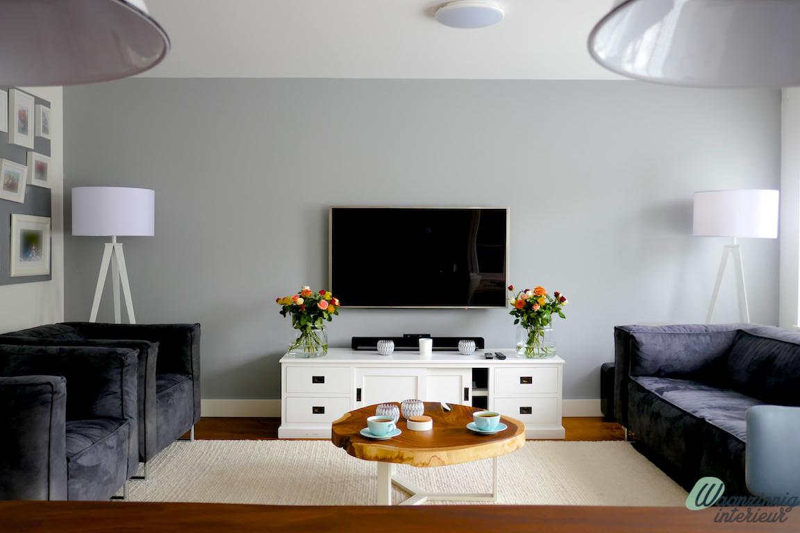 Strakke moderne woonkamer - Waanzinnig Interieur