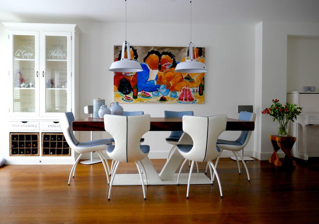 Strakke moderne woonkamer waanzinnig interieur - Moderne woonkamer ...