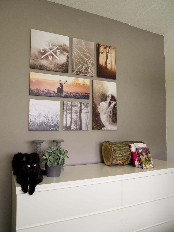 geliefde fotocollage maken op muur jm31 aboriginaltourismontario. Black Bedroom Furniture Sets. Home Design Ideas