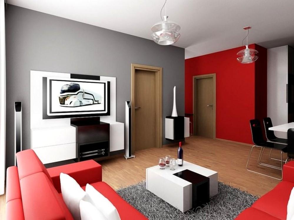 Durf jij waanzinnig rood te kiezen waanzinnig interieur for Decoracion del hogar sencillo
