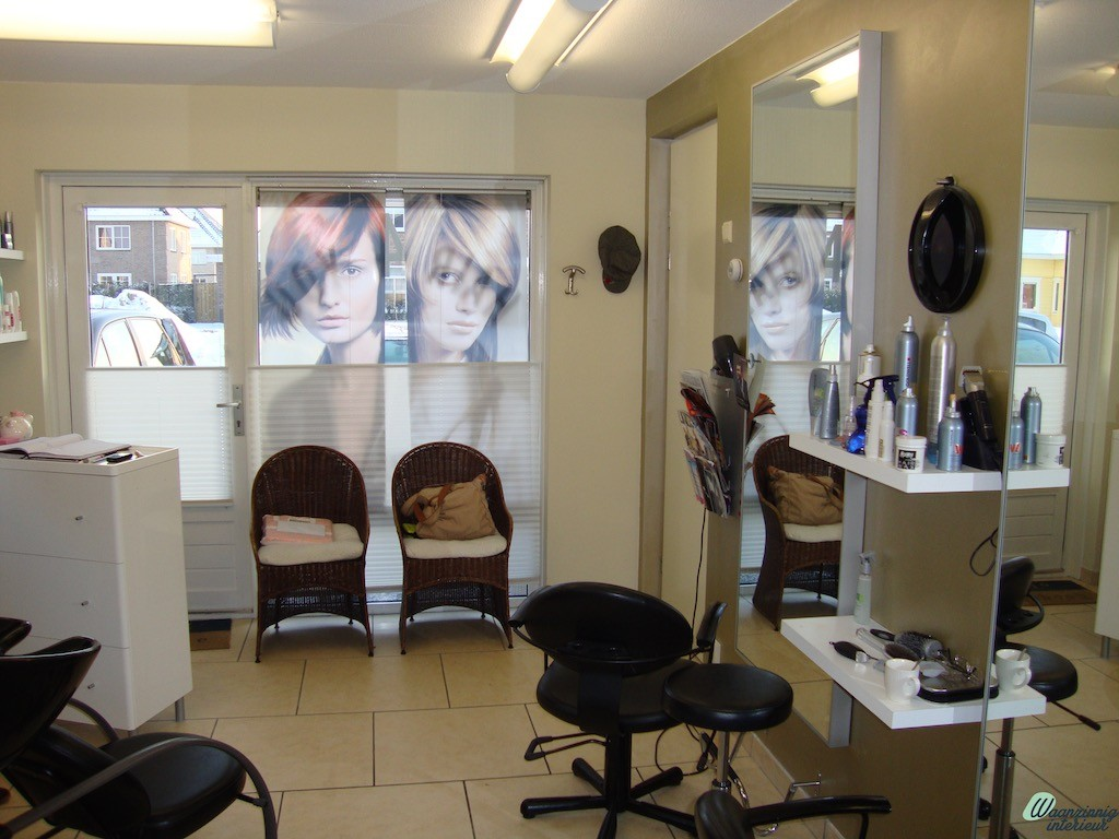 Kapsalon hair4you waanzinnig interieur - Interieur binnenkomst ...